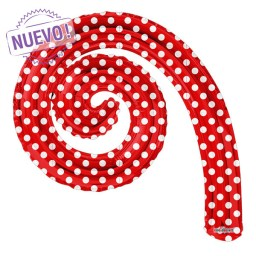 Maxiglobos Globos Metalizados  kurly-espiral-red-dots-14-15039